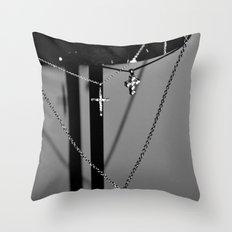 Crossing. Throw Pillow