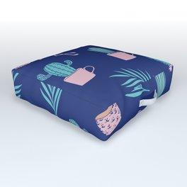 Summer Tropical Vibes Outdoor Floor Cushion