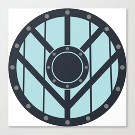 Viking Shield Canvas Print
