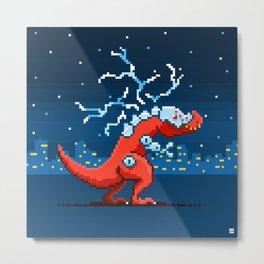 T-Rex Atron Metal Print