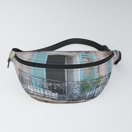 New Orleans French Quarter Balcony Fanny Pack