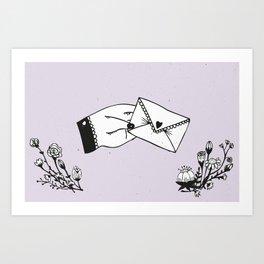 Snail Mail Love Art Print