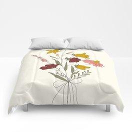 Wildflowers Bouquet Comforters