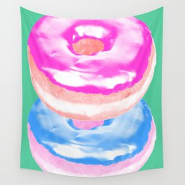 Stacks on Stacks Wall Tapestry