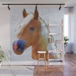 abstract horse Wall Mural