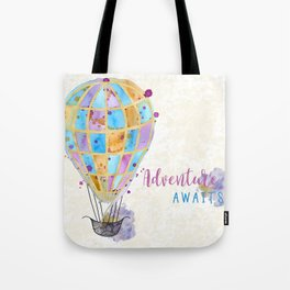 Adventure Awaits... Tote Bag
