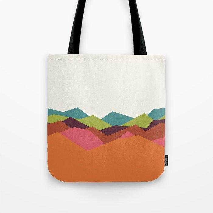 Chevron Mountain Tote Bag