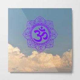 Namaste Creative Metal Print
