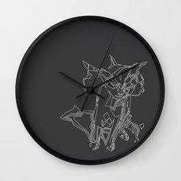 Cat Movement Wall Clock