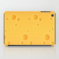 cheese iPad Cases featuring Cheese by Screen Candy
