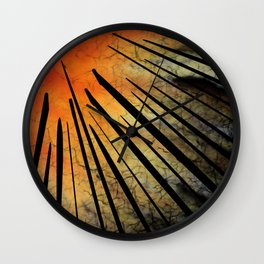 Ethereal Sunset Wall Clock