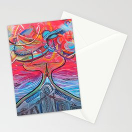 Thought Eruptions Stationery Cards