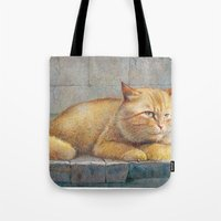 ginger Tote Bags featuring Ginger by irshi