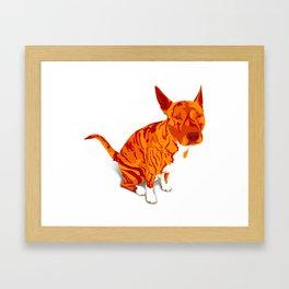Tora Framed Art Print