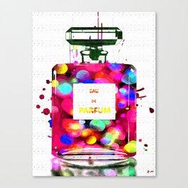 Eau de Parfum Bubbles Canvas Print
