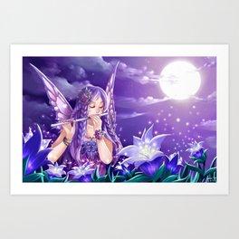 Night Fea Art Print