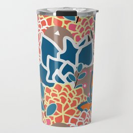 Succulents crowd Travel Mug