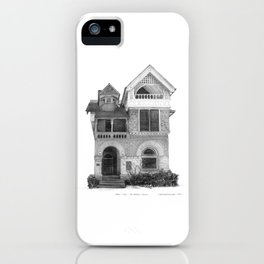 Annex Style, The Annex - Architectural Styles of Toronto Houses iPhone Case