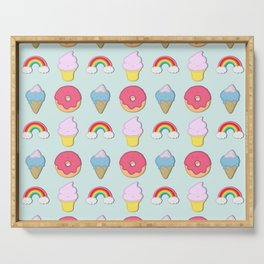 Happy Candyland Serving Tray