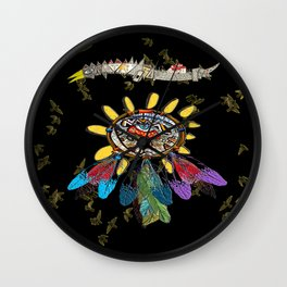 dream catchers dreaming Wall Clock