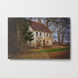 Character Witness Protection Hideout Metal Print