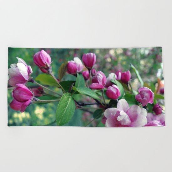 Blossom #1 Beach Towel