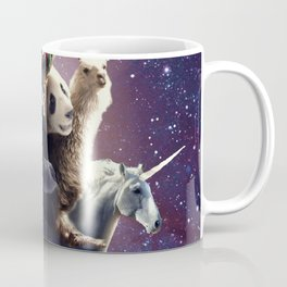 Cat Riding Chicken Turtle Panda Llama Unicorn Coffee Mug