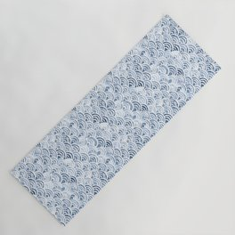 Indigo Oriental Sea Yoga Mat