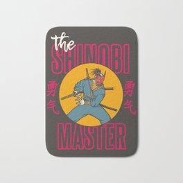 The Shinobi Master Bath Mat
