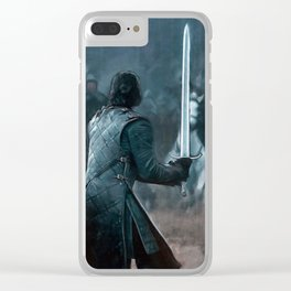 Battle of the Bastards Clear iPhone Case
