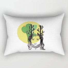 Cactus queen II Rectangular Pillow