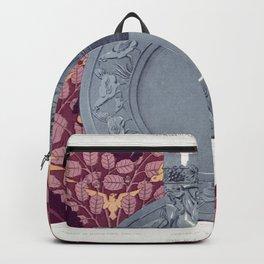 Ecureuil oiseaux et noisetier tenture Chevre et vigne gobelet argent Corbeaux et magnolia tenture Co Backpack