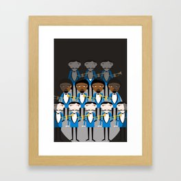 And all that jazz Framed Art Print