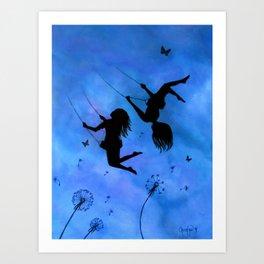 Free As The Wind Art Print
