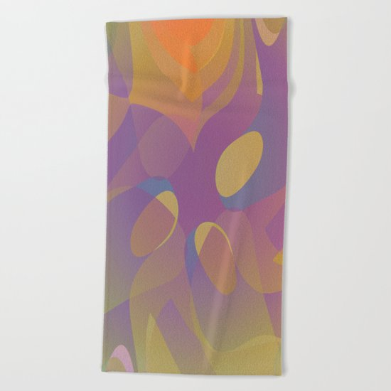 Exotic Seeds Beach Towel