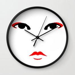 Minimal Geisha Wall Clock