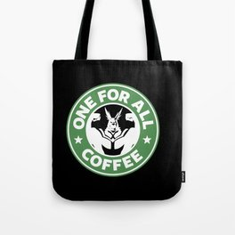 One For All Coffee Tote Bag