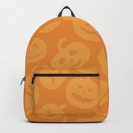 Orange Jack-O-Lanterns Backpack