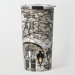 Paris Photography in Sepia Travel Mug