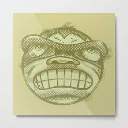 Monkey face Metal Print