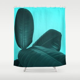 Ficus Elastica #3 #art #society6 Shower Curtain