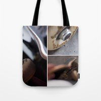 skate Tote Bags featuring Skate by TJAguilar Photos