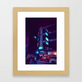 Neonsigns / Bladeunner Vibes / Bangkok Framed Art Print