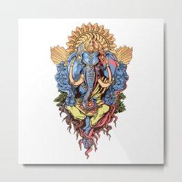 INDIA---GOD Metal Print