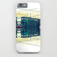 Tramway collage cityscape in Hong Kong iPhone 6s Slim Case