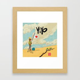 Yiyo y los Barancolis Framed Art Print