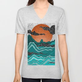 Agate Mountains Unisex V-Neck