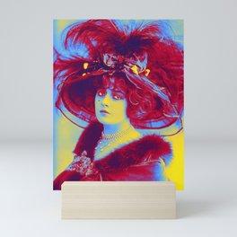 Genevieve  Ginette  Lantelme (born Mathilde Fossey, 1883-1911). French actress, socialite, and court Mini Art Print