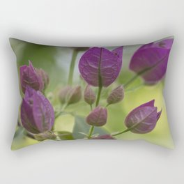 Purple Bougainvillea Rectangular Pillow