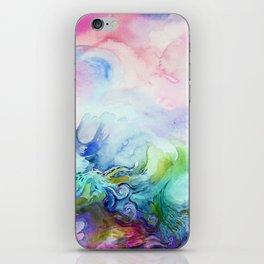 Creative Watercolour / Watercolor Print iPhone Skin